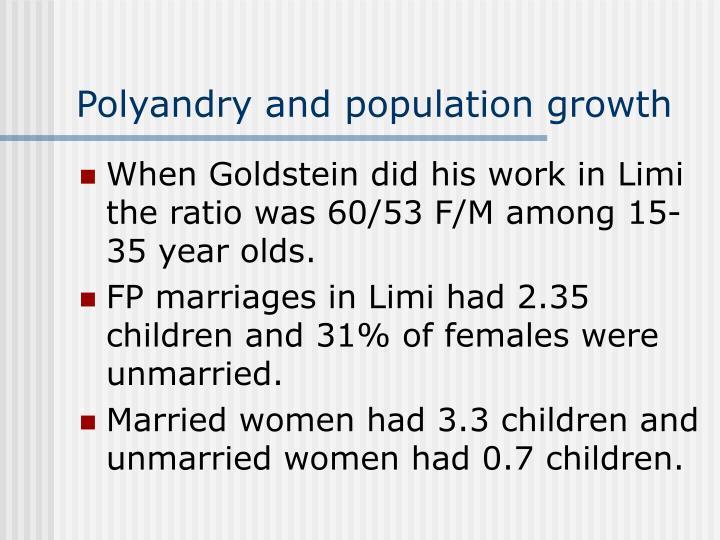 Polyandry and population growth