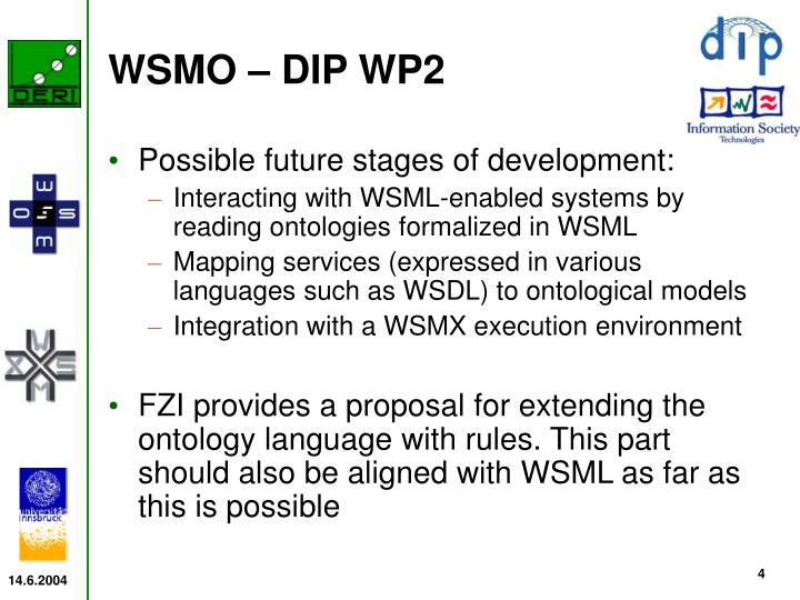 WSMO – DIP WP2