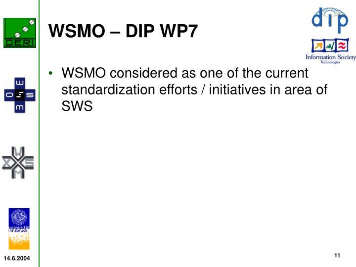WSMO – DIP WP7