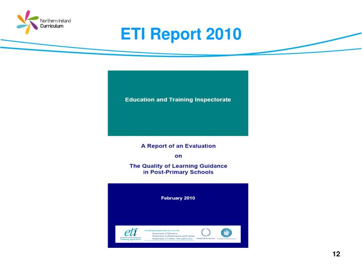 ETI Report 2010