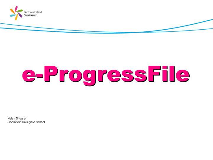 e-ProgressFile