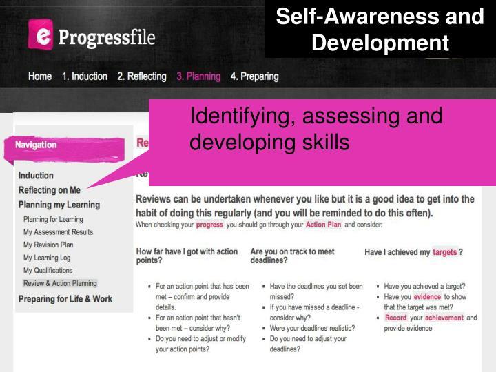 Self-Awareness and Development
