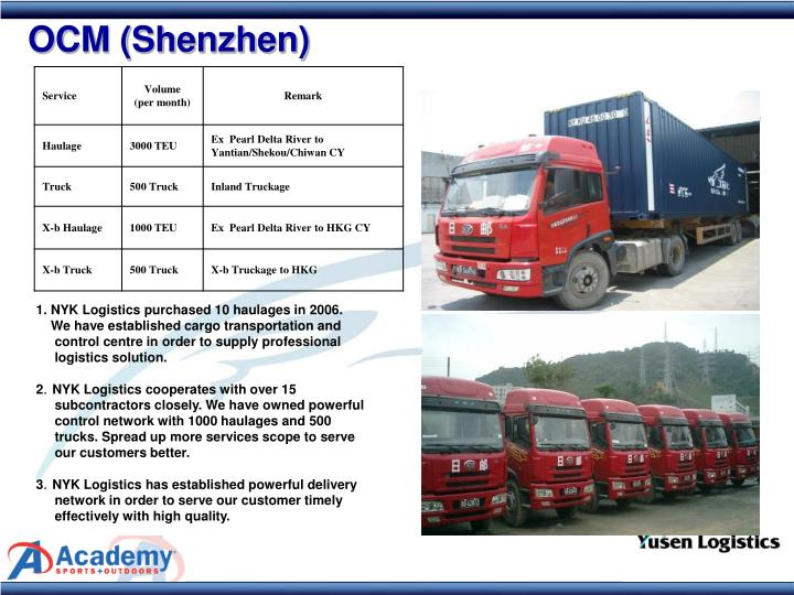 OCM (Shenzhen)