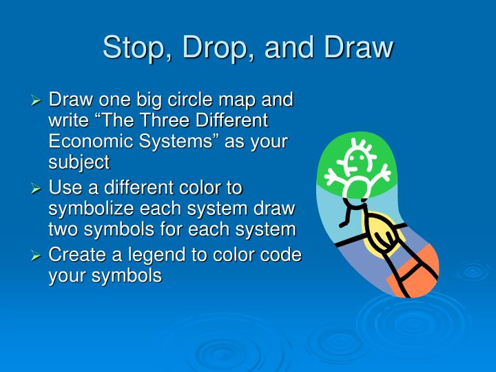Stop, Drop, and Draw