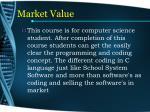 market value13
