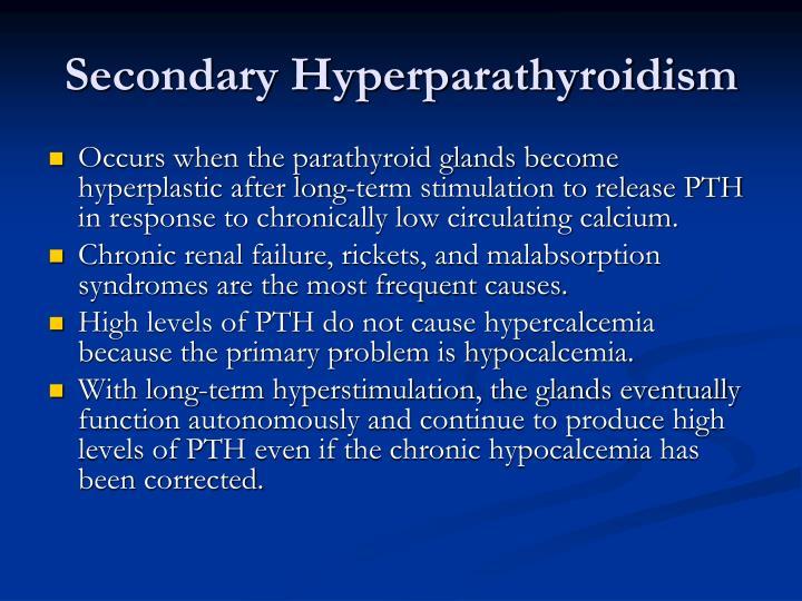 Secondary Hyperparathyroidism