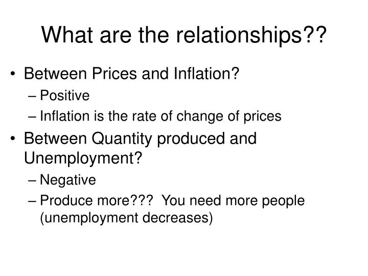 What are the relationships??
