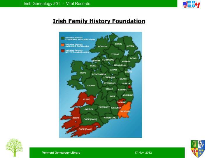Irish Family History Foundation
