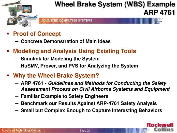 Wheel Brake System (WBS) Example
