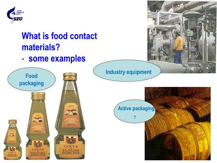 What is food contact materials?