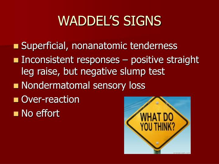 WADDEL'S SIGNS