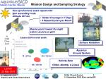 mission design and sampling strategy