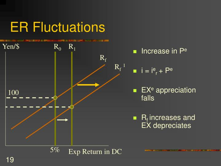 ER Fluctuations