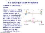12 2 solving statics problems1