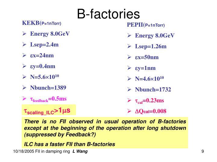 B-factories