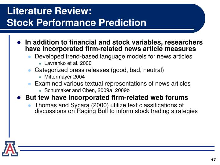 Literature Review: