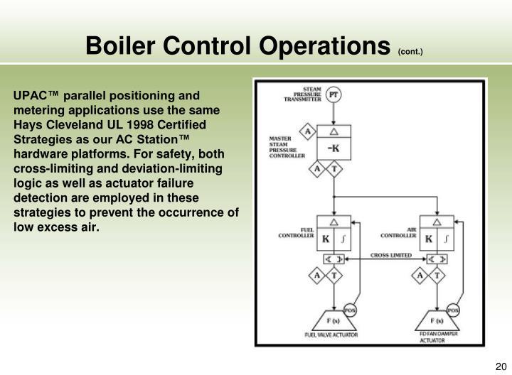 Boiler Control Operations