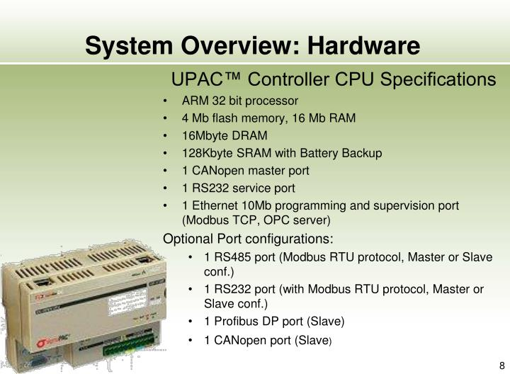 System Overview: Hardware