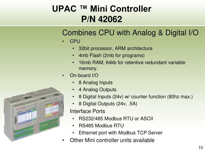 UPAC ™ Mini Controller