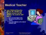 medical teacher2