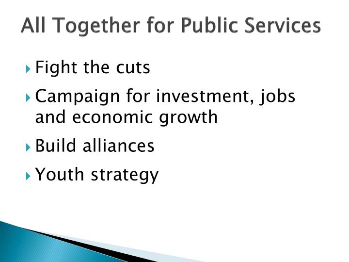 All Together for Public Services