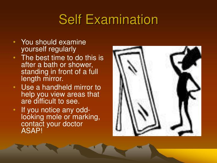 Self Examination