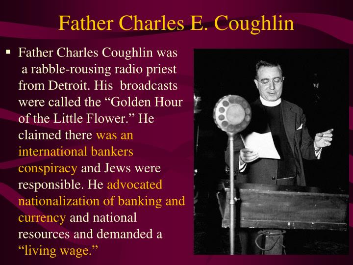 Father Charles E. Coughlin