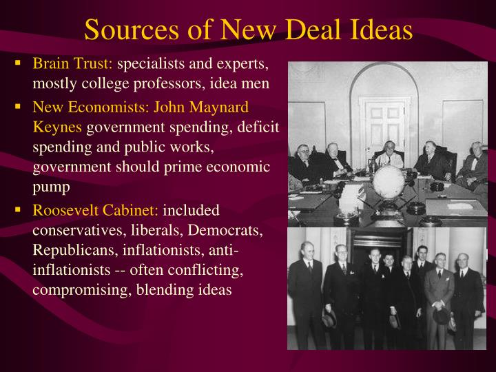 Sources of New Deal Ideas