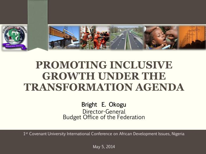 promoting inclusive growth under the transformation agenda n.