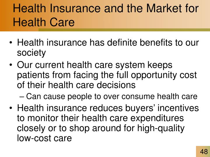 Health Insurance and the Market for Health Care