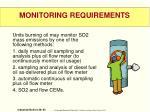 monitoring requirements1