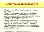 monitoring requirements2