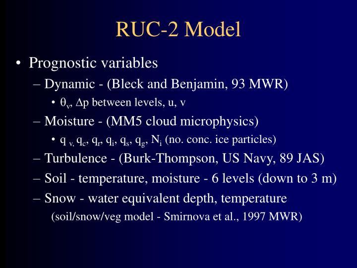 RUC-2 Model
