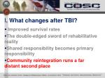 i what changes after tbi3