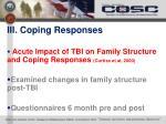 iii coping responses1