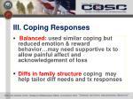 iii coping responses5