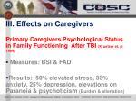 iii effects on caregivers2