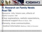 iv research on family needs post tbi1