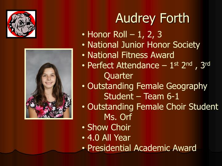 Audrey Forth