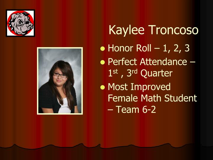 Kaylee Troncoso