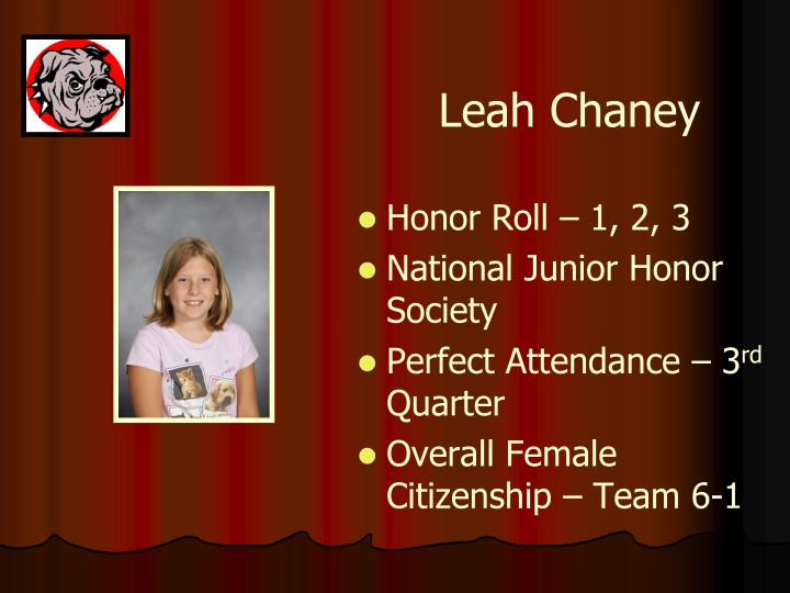Leah Chaney