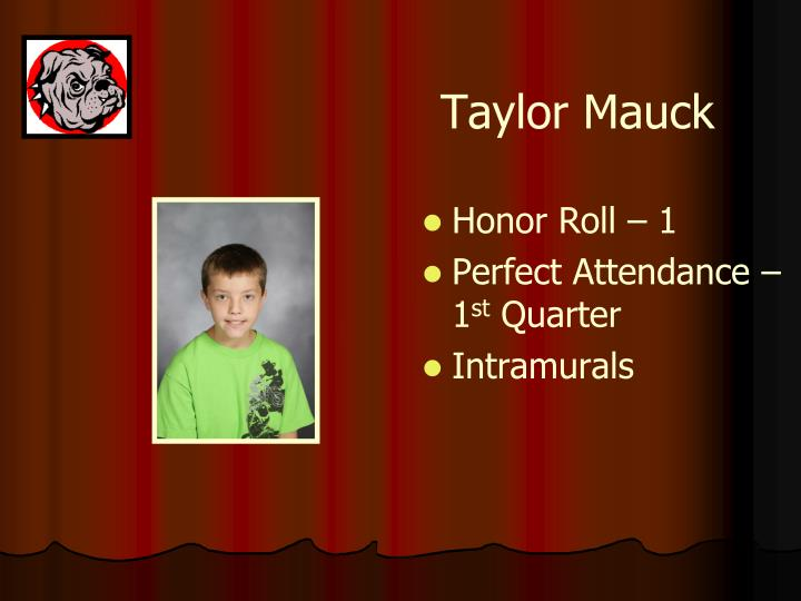 Taylor Mauck