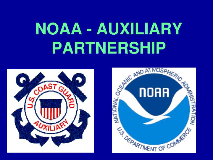 Noaa auxiliary partnership