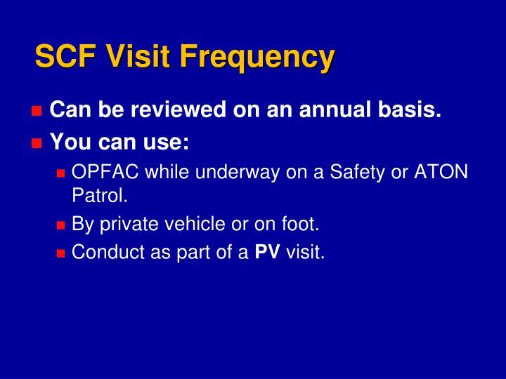 SCF Visit Frequency