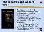 the meech lake accord 1987
