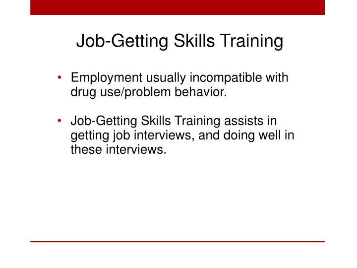 Job-Getting Skills Training