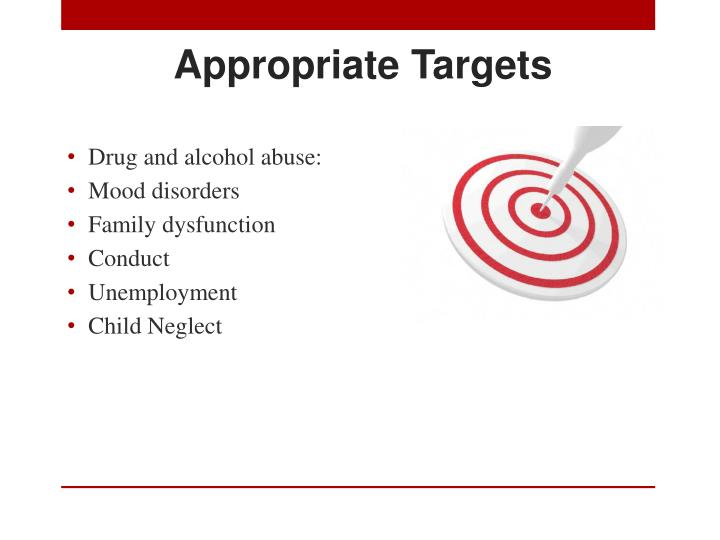 Appropriate Targets