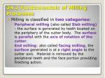 24 2 fundamentals of milling processes