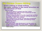 up versus down milling1