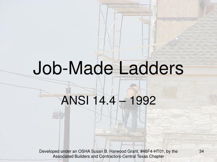 Job-Made Ladders
